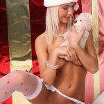 Merry Christmas hot white girls stripping Natali Blond
