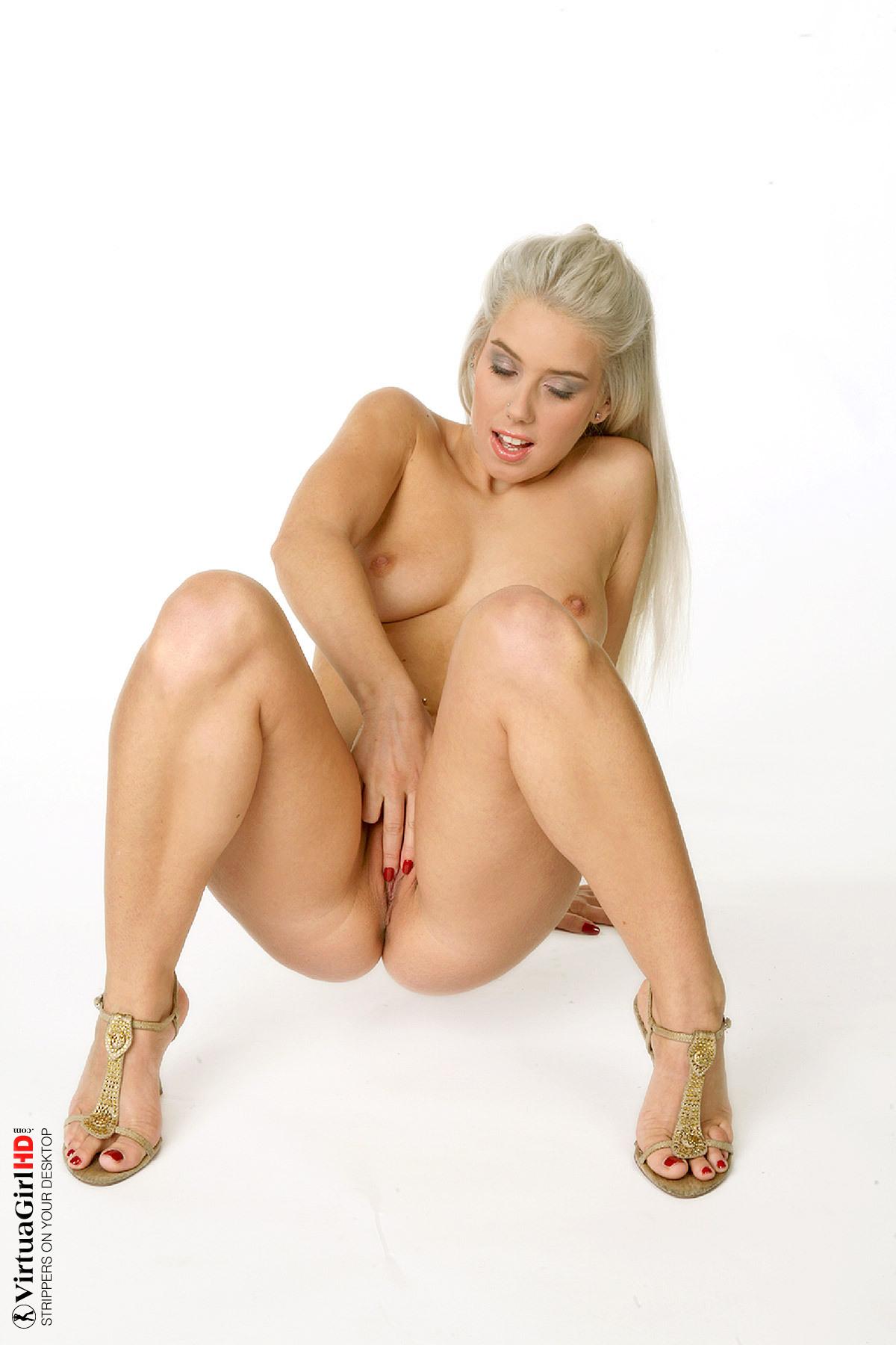 girls stripping of