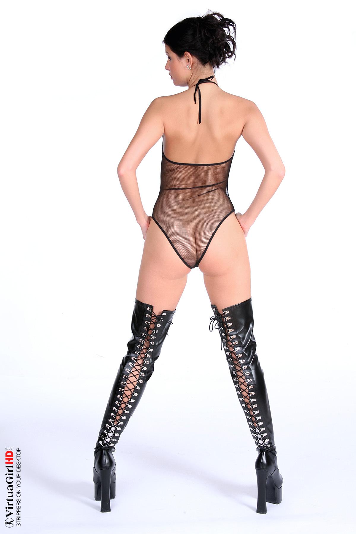 cartoon desktop stripper