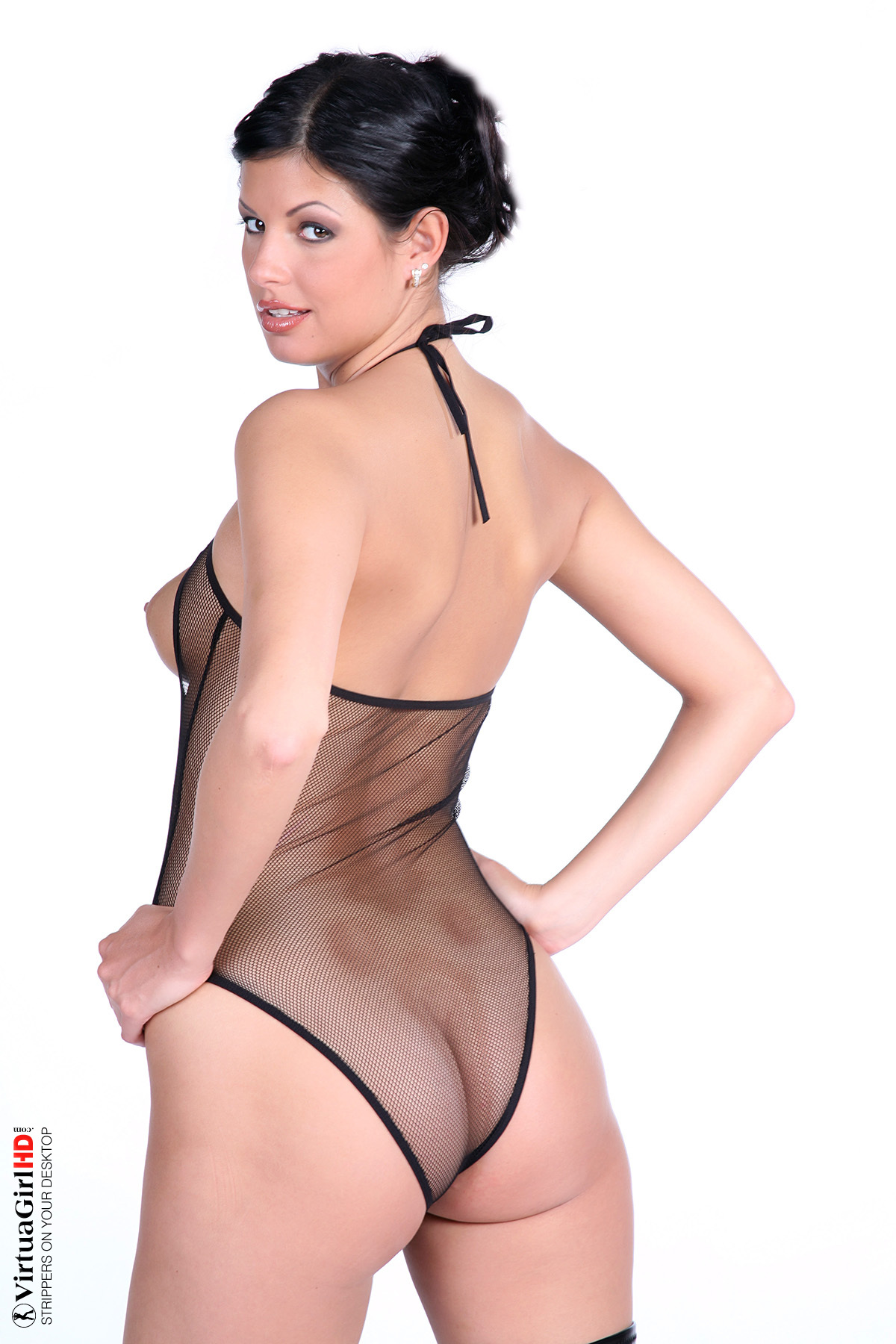 girls stripping big boobs
