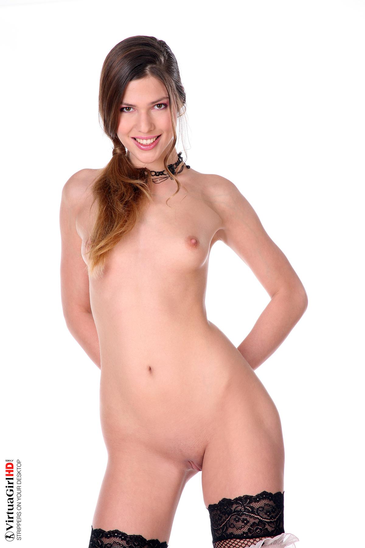 desktop stripper woman having seizure