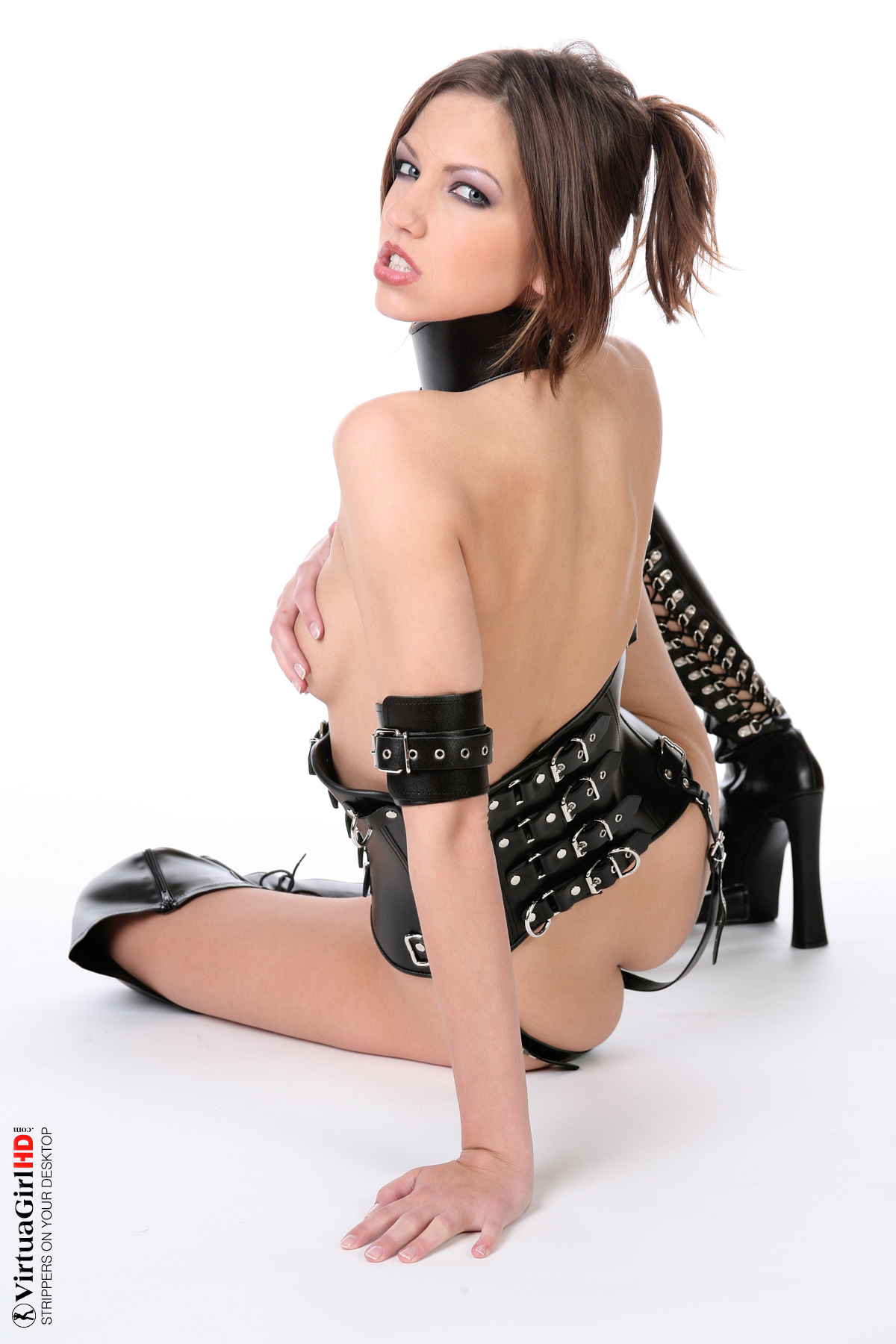 sexy anime girls stripping