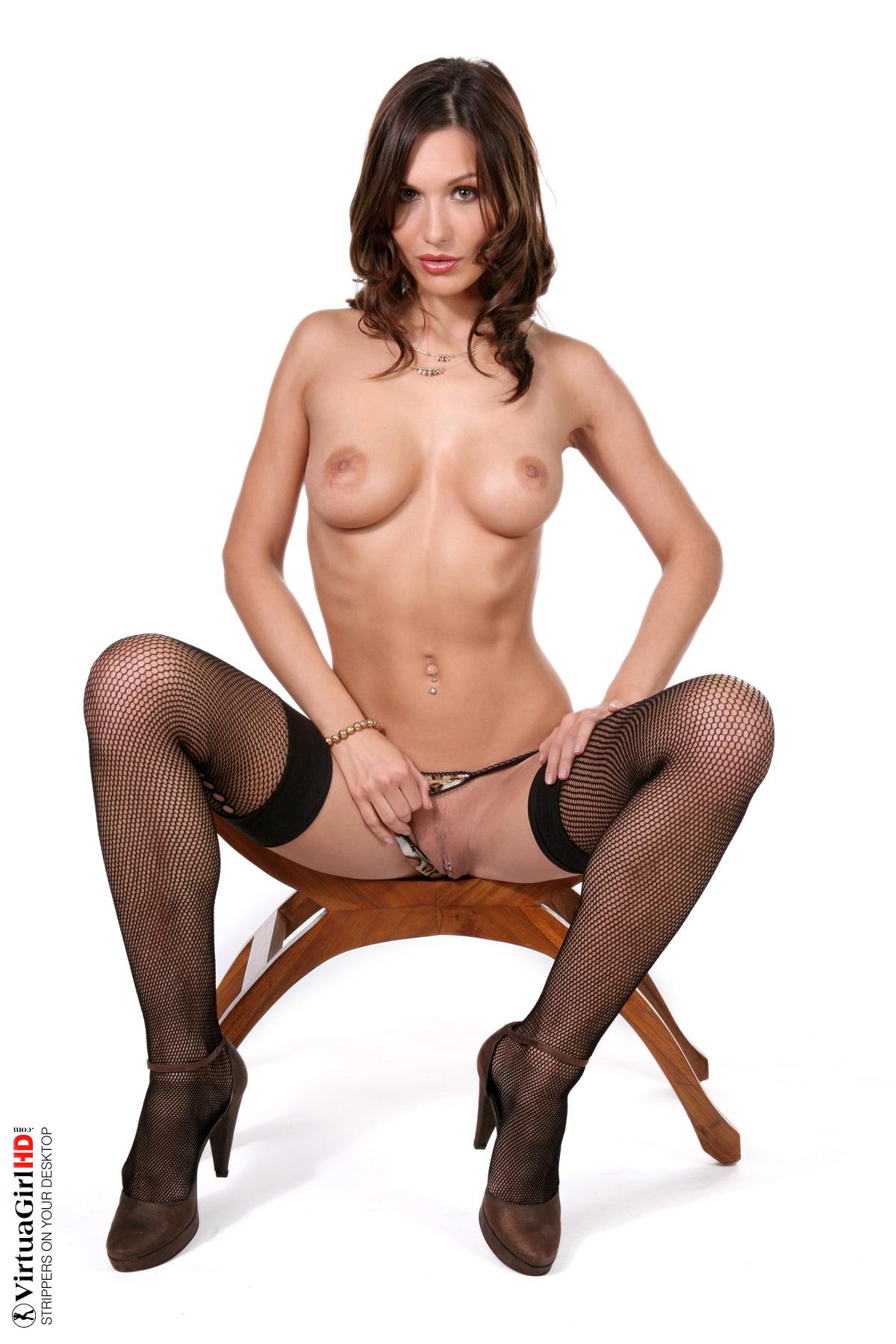 girls stripping off bras