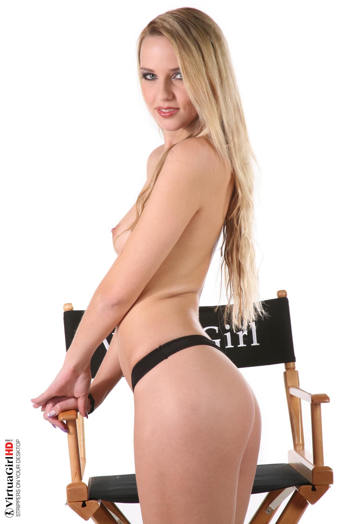 big girls stripping