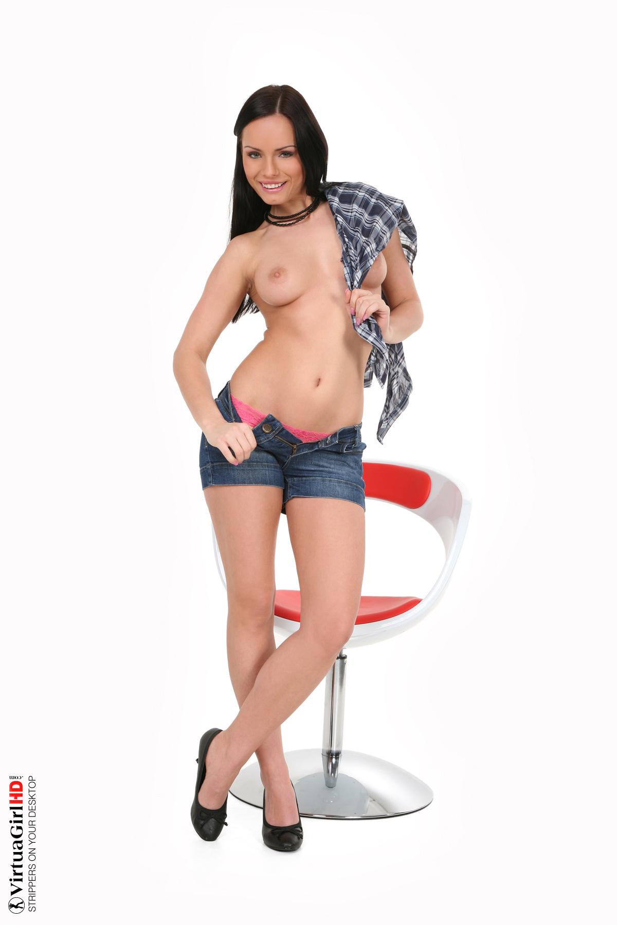 amateur big girls stripping