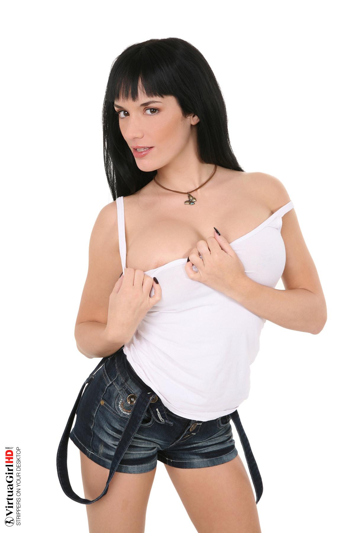 hot girls stripping hentai