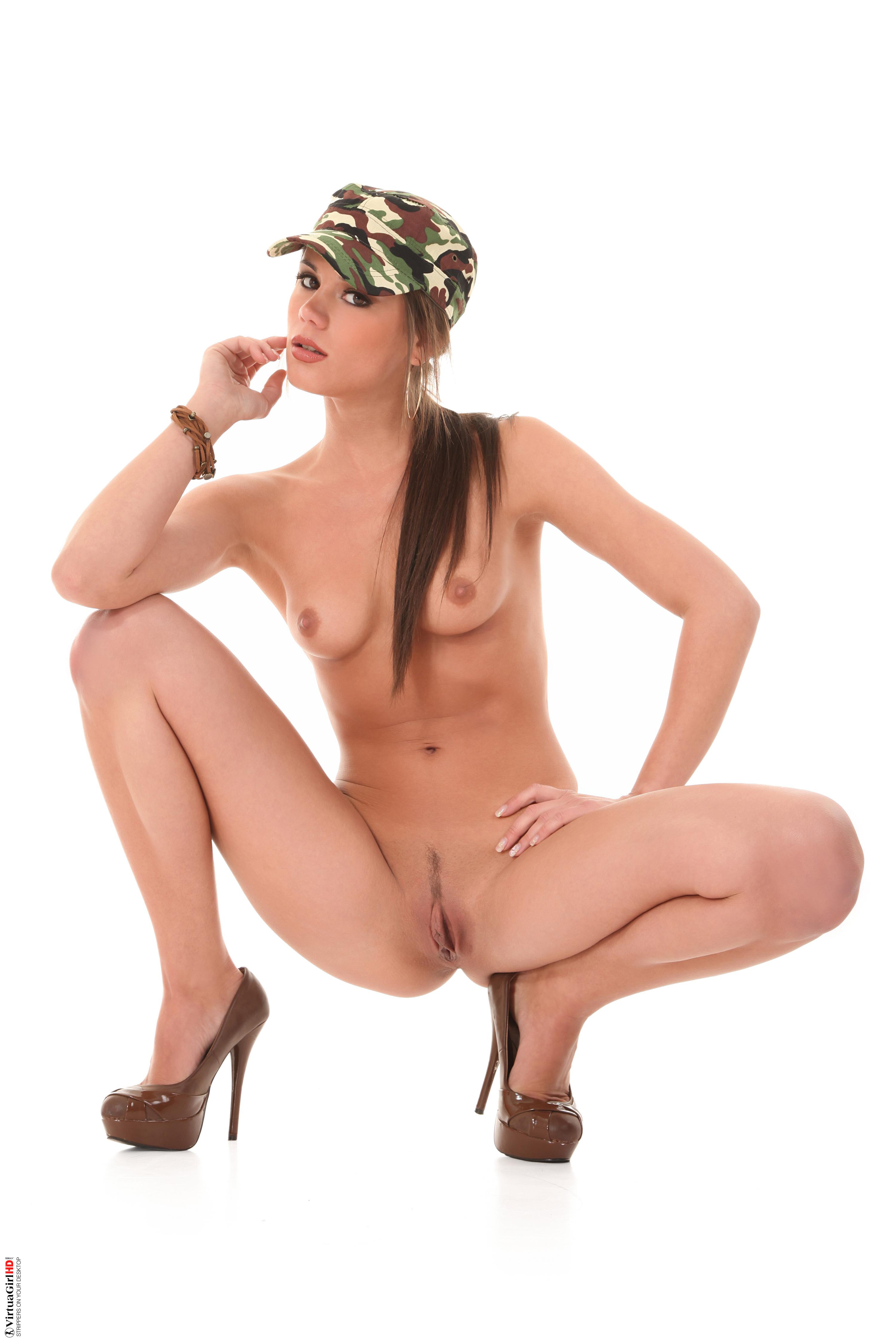 topless girls stripping