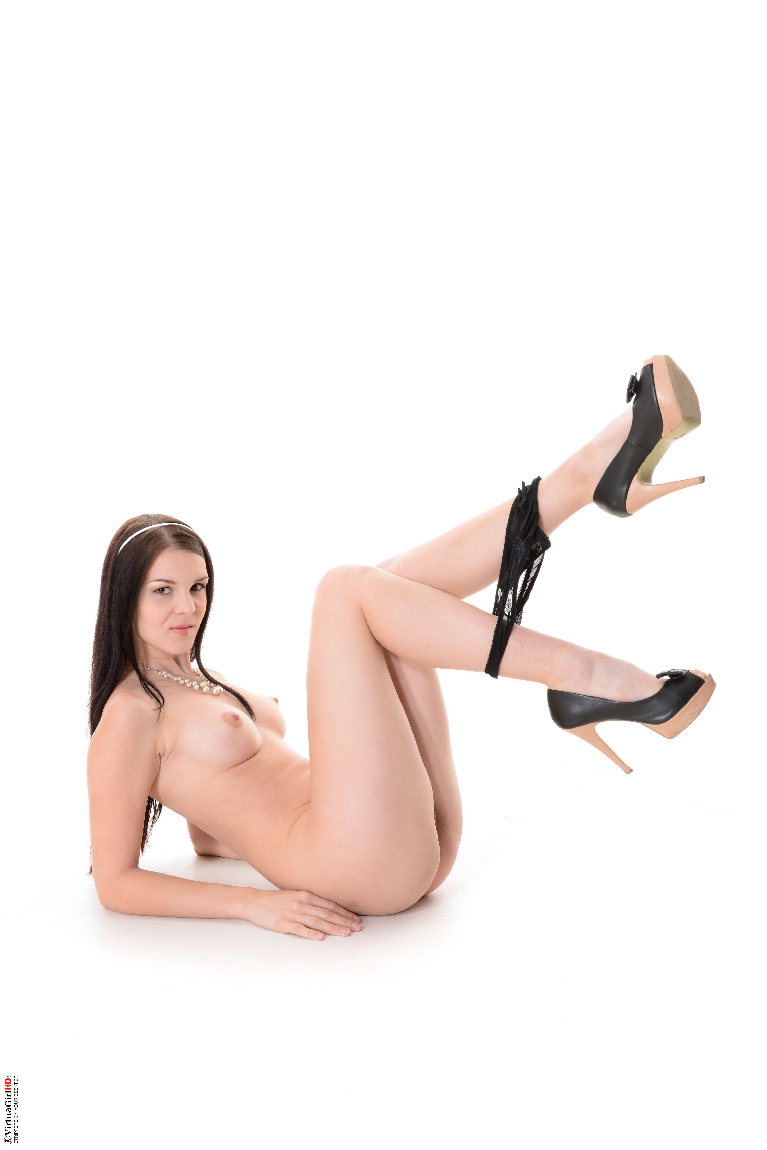 girls stripping in room