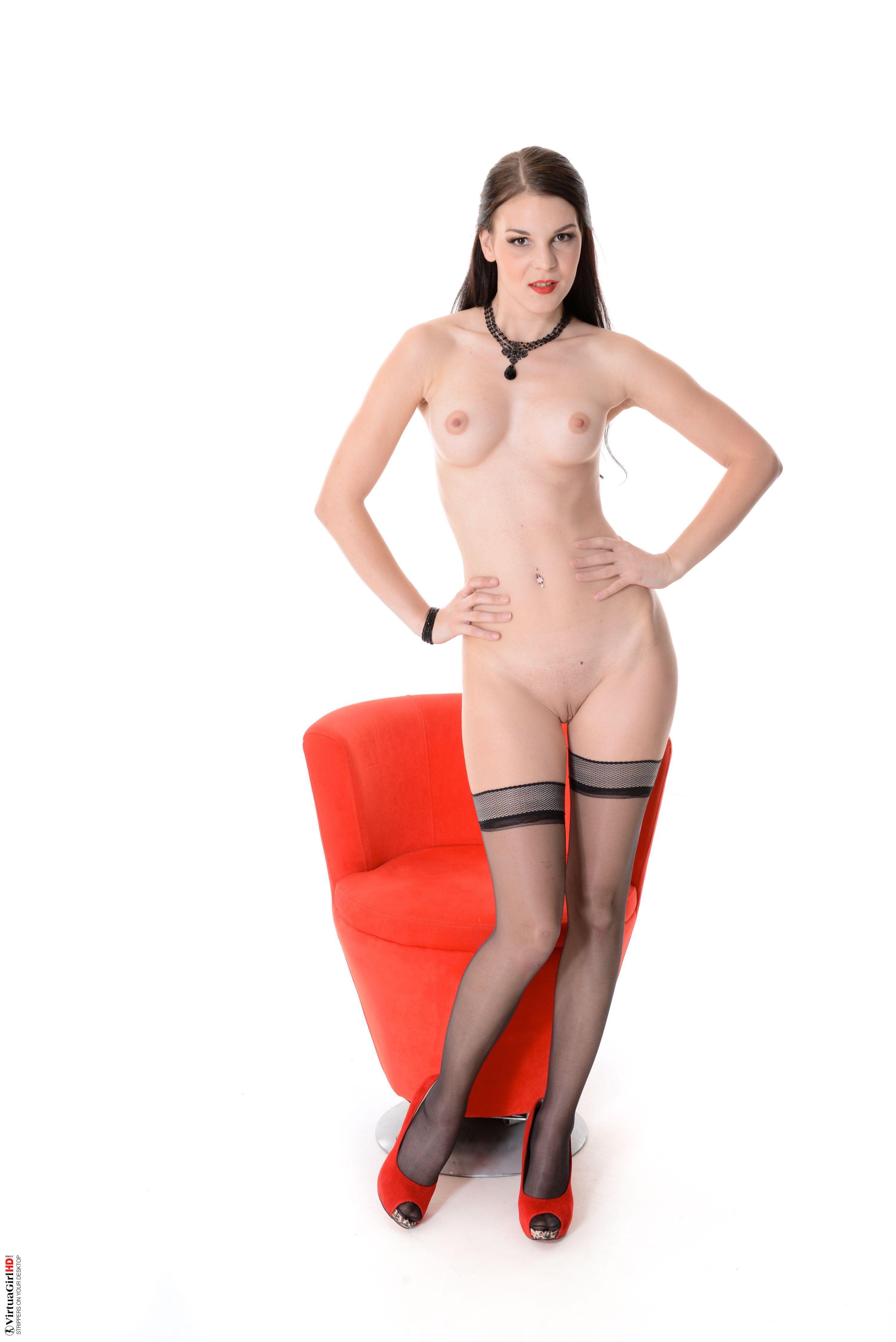 girls stripping for man