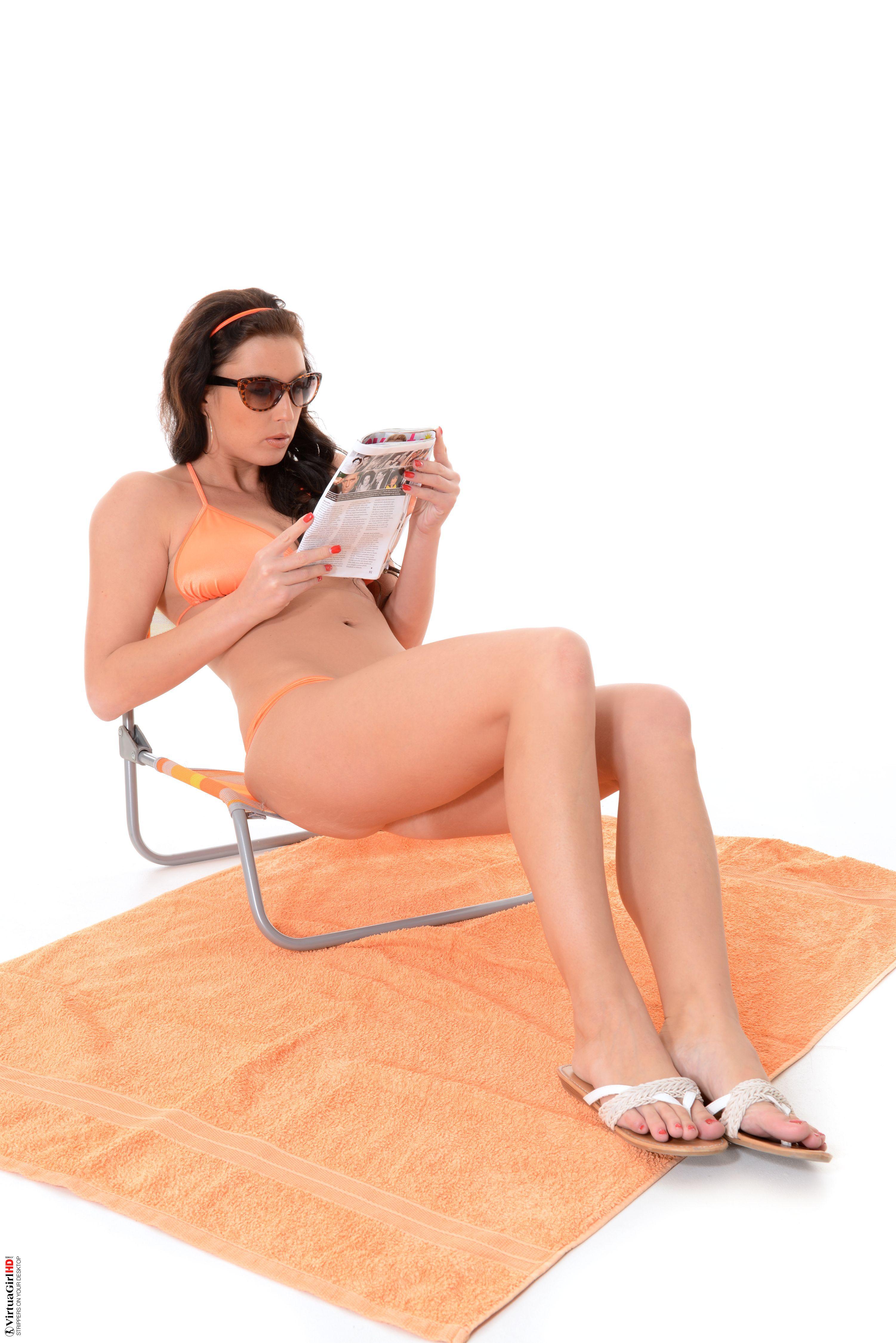 stripper on desktop