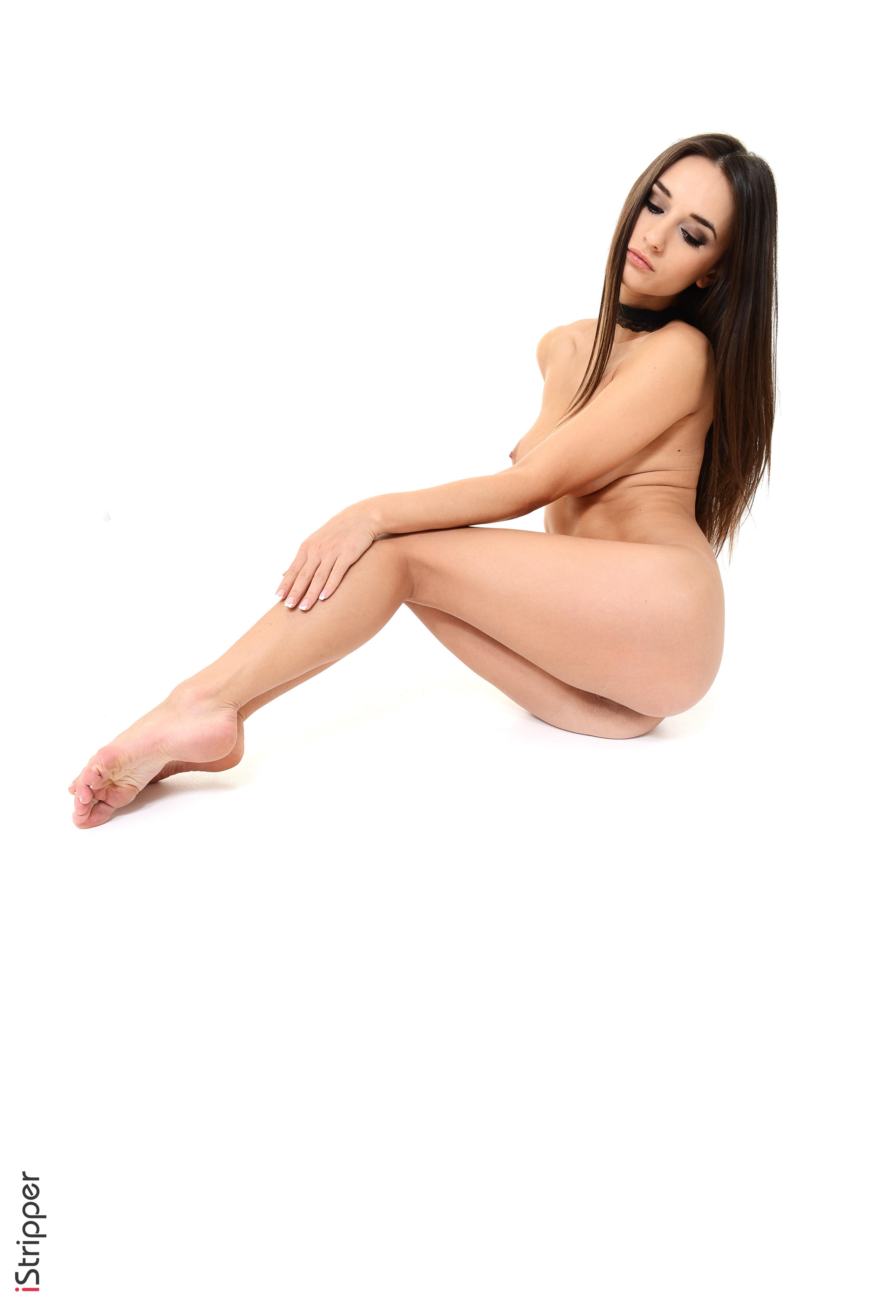 girls slowly stripping down