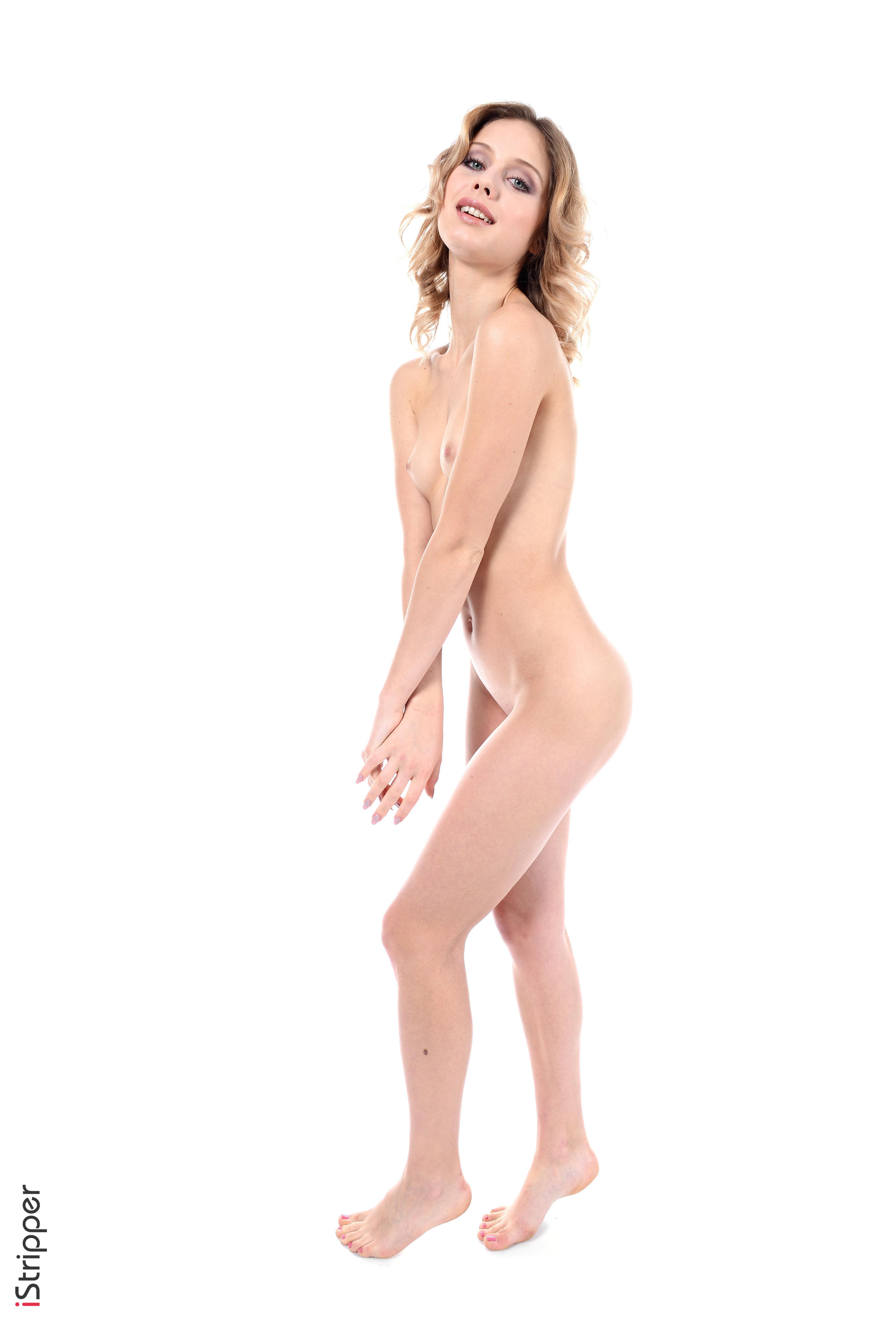 girls pink stripping