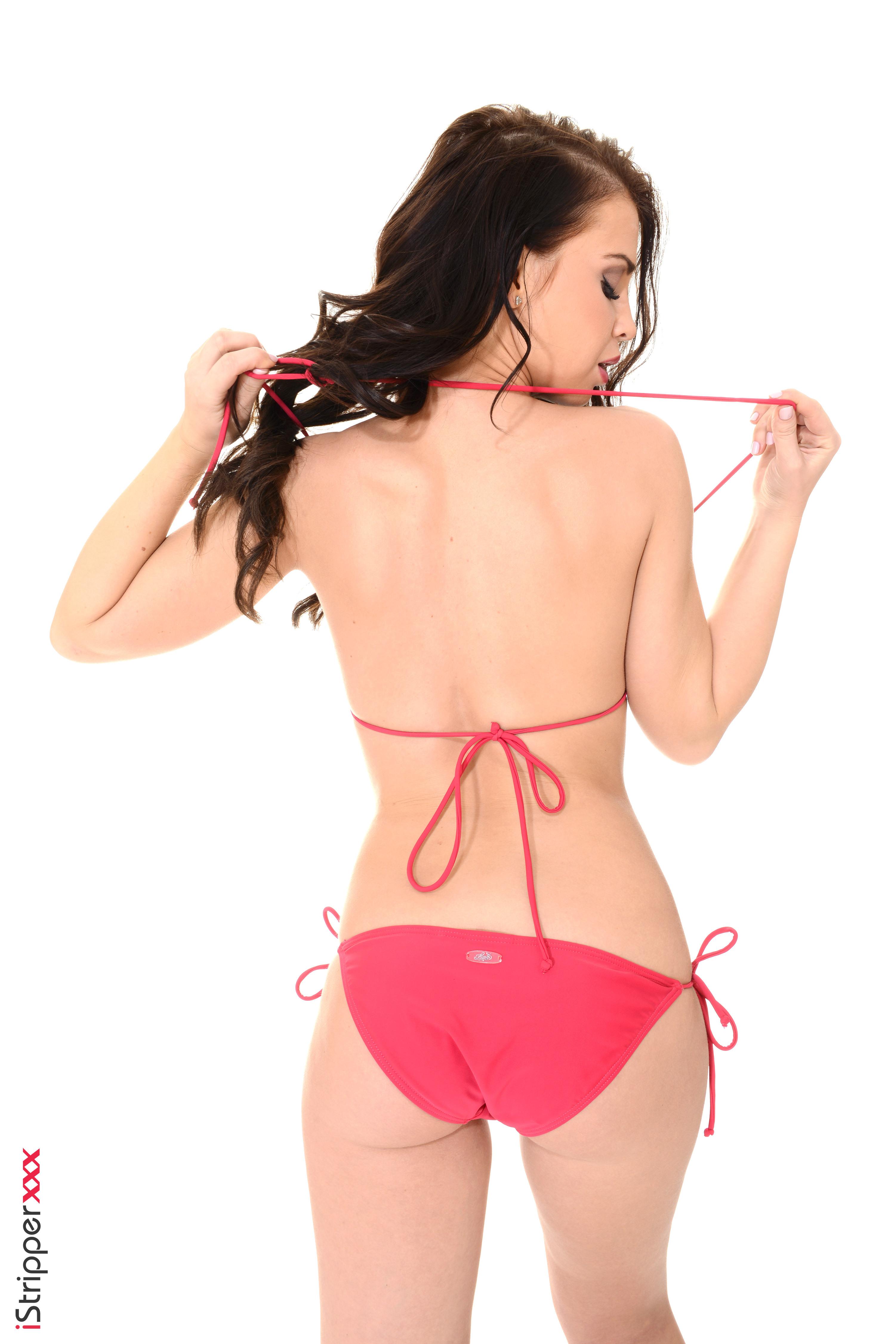 girls in dresses stripping