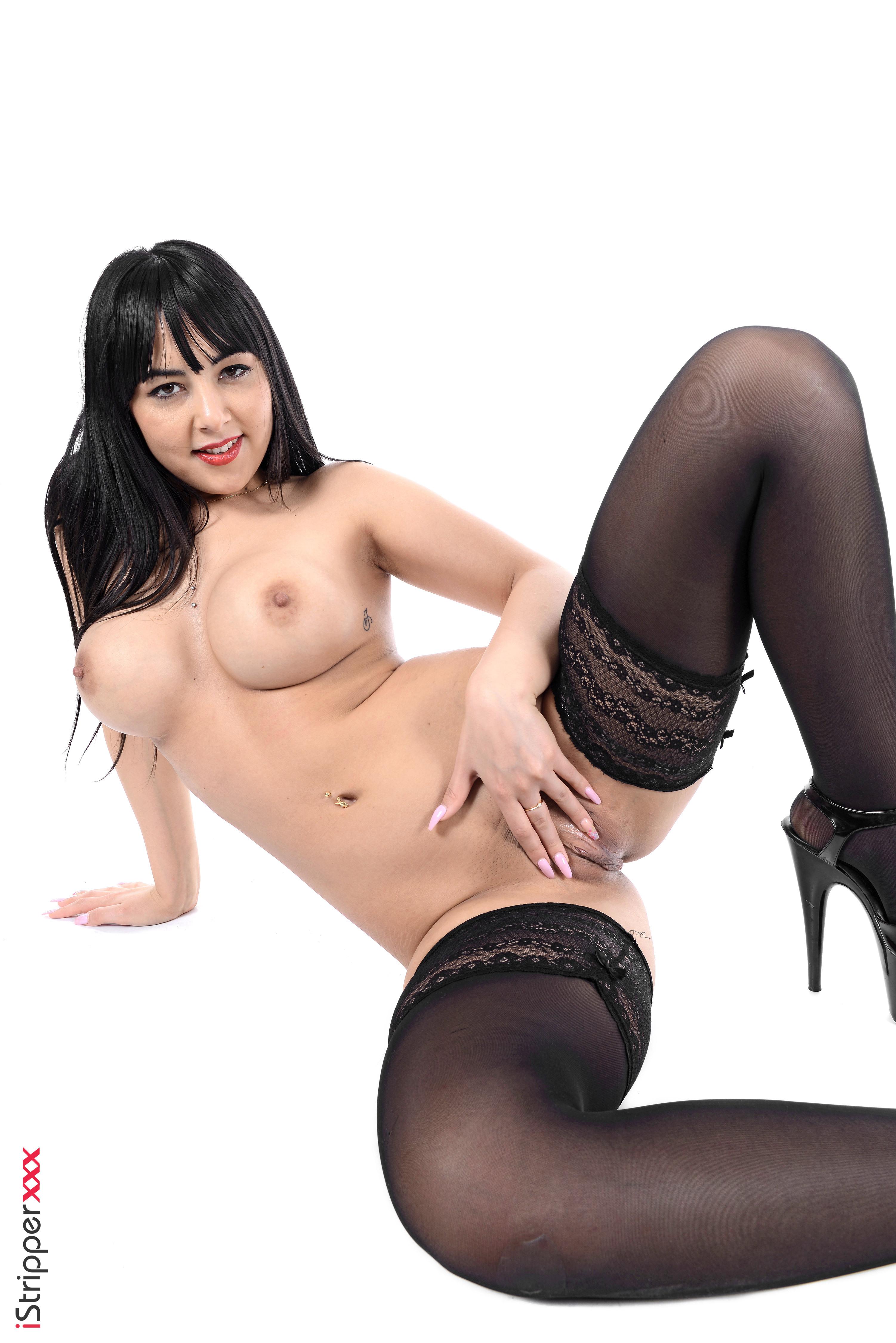 cute girls turn on guy stripping